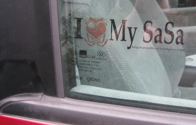 I heart My SaSa