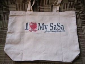 A Promotional Tote for The Disenchanted Pet