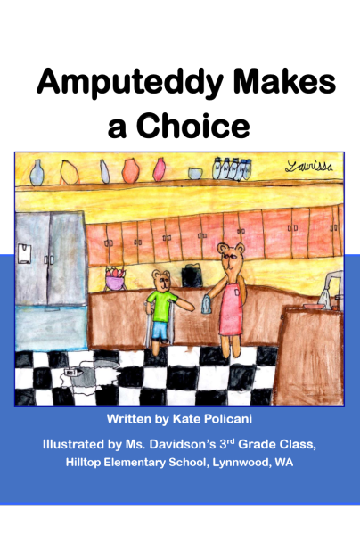 Amputedd makes a choice ebook cover